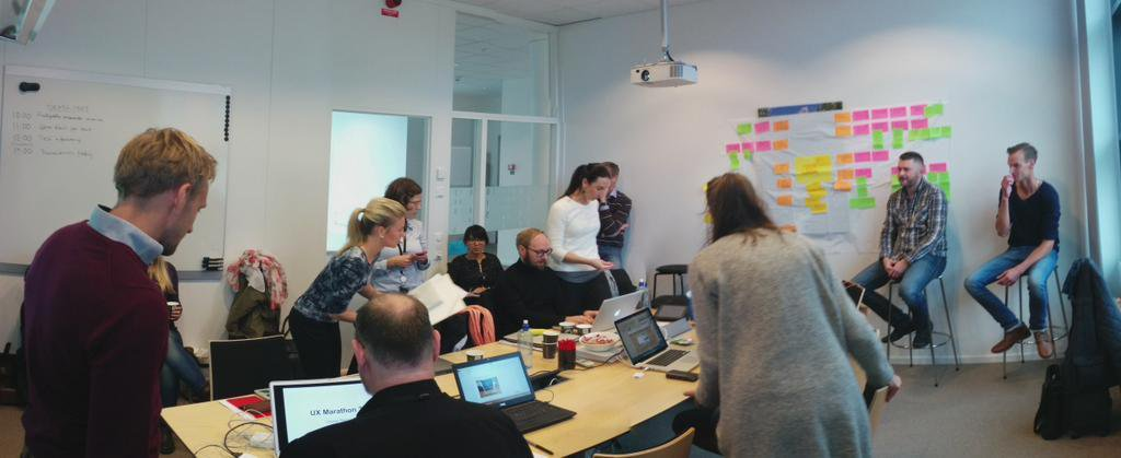 Introducing the UX Marathon - a practice of Lean UX in Visma