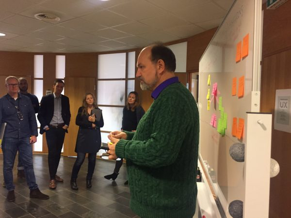 Knowledge sharing session during the Visma UX Marathon 2016