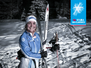 Benedikte Friis has trained for one month for Project Ylläs-Levi.