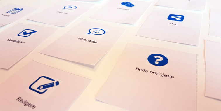 Issue cards customer journey mapping