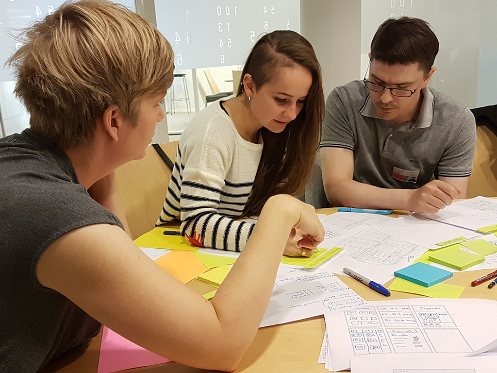 Our experience from the UX Mentor program