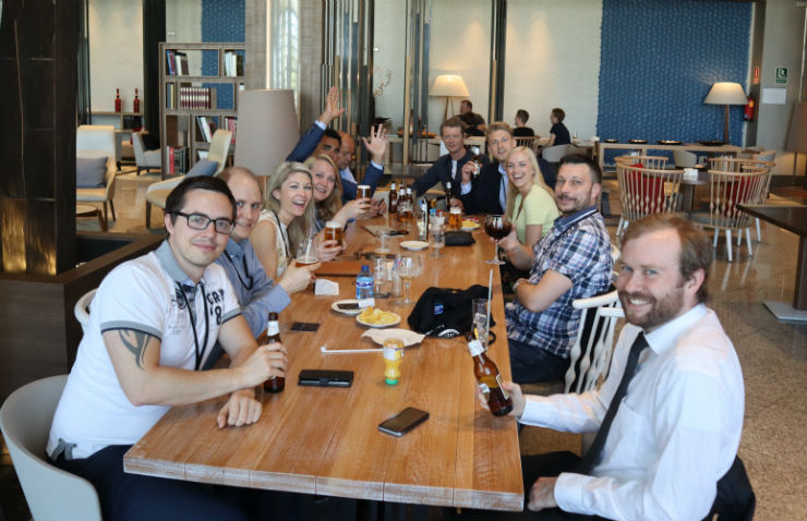 The employees at Visma Custom Solutions enjoyed three days of learning, knowledge sharing and social activities in Madrid