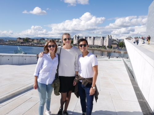 Management trainees in Oslo