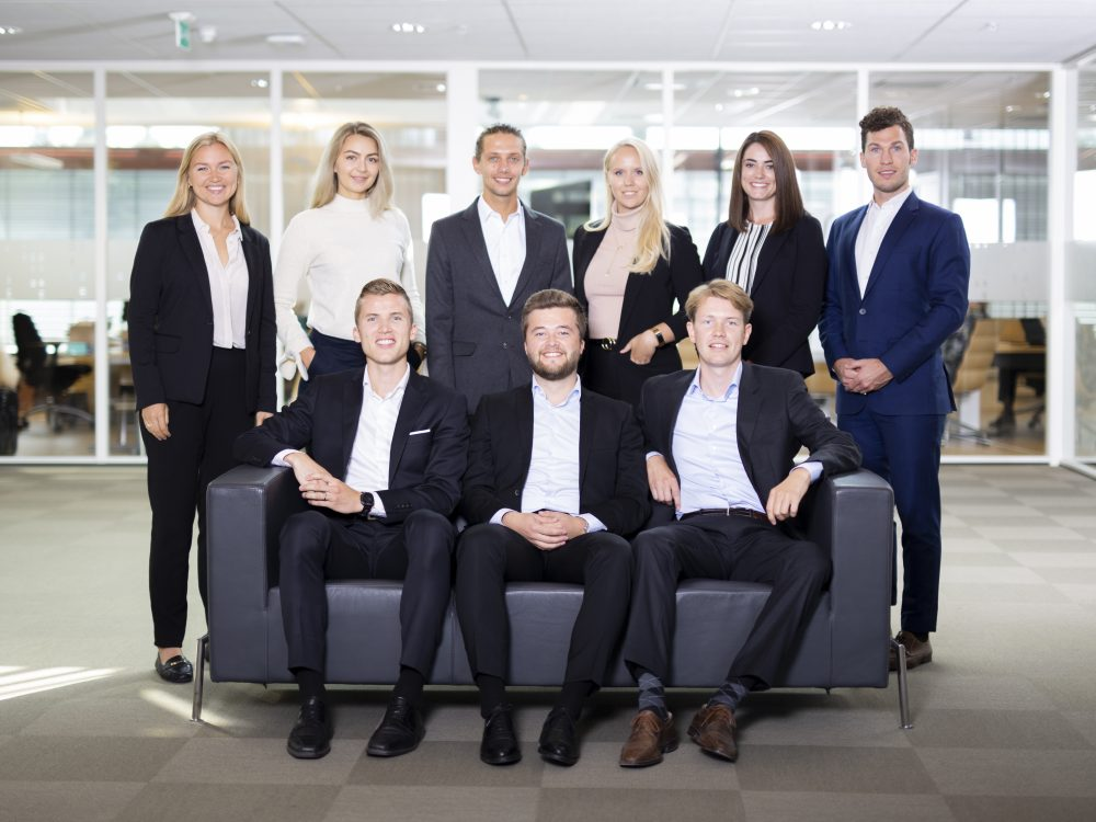 The Management trainees for 2018/19
