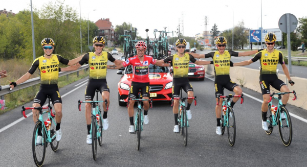 First Grand Tour win for Team Jumbo-Visma