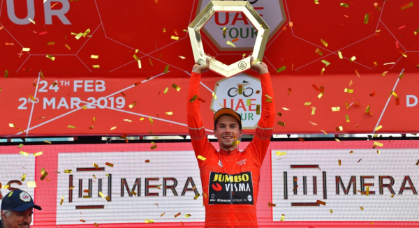Roglic wins UAE Tour