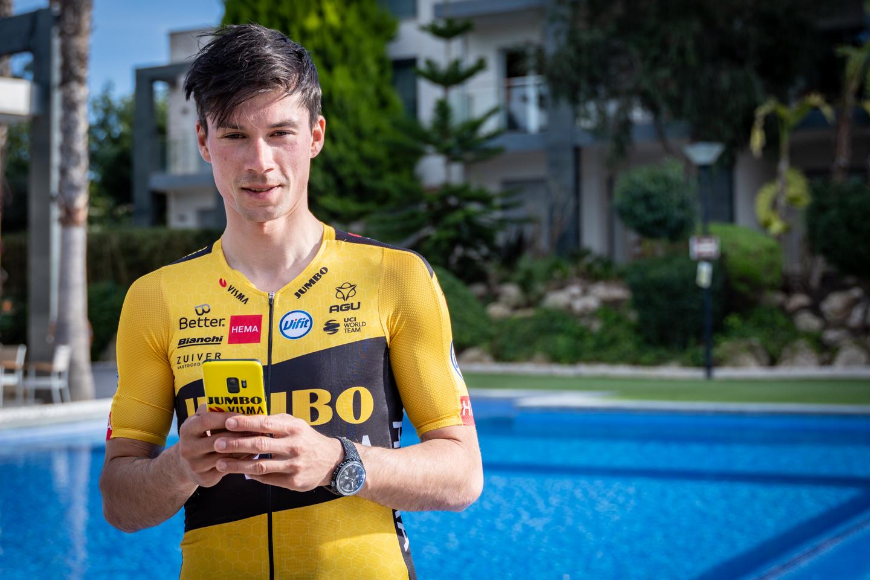 Team Jumbo-Visma cyclist Primož Roglič