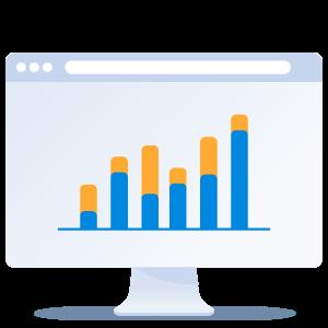 Illustration of providing relevant industry statistics