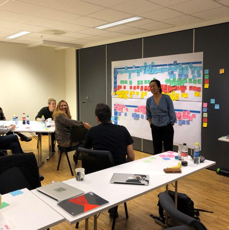 Customer journey workshop