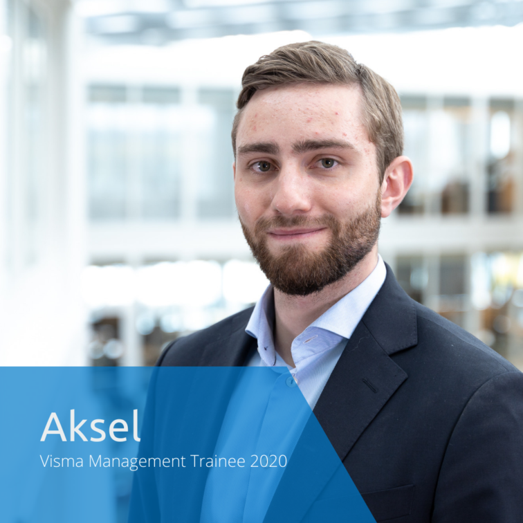 Get to know this year's Visma Management Trainees: Aksel