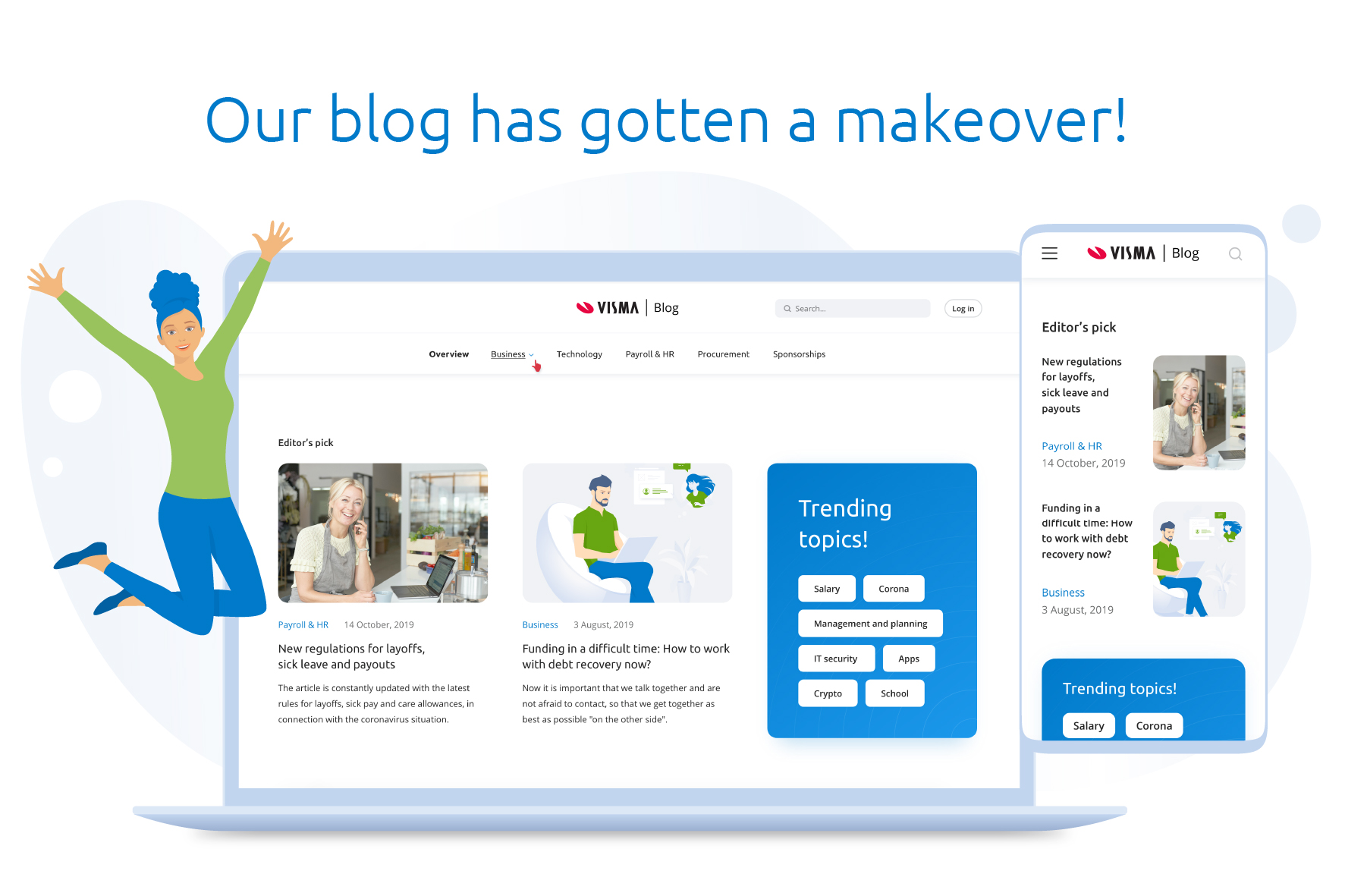 New look and feel on the Visma blog