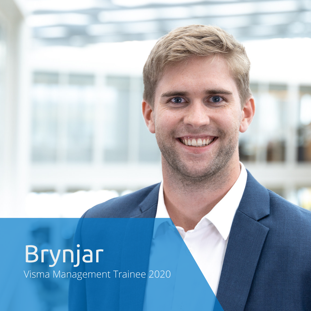 Get to know this year's Visma Management Trainees: Brynjar