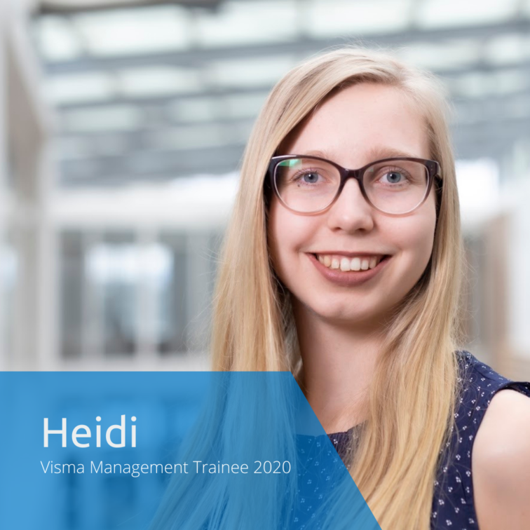 Get to know this year's Visma Management Trainees: Heidi
