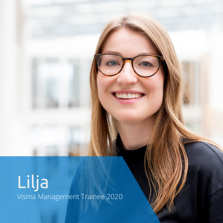 Get to know this year's Visma Management Trainees: Lilja