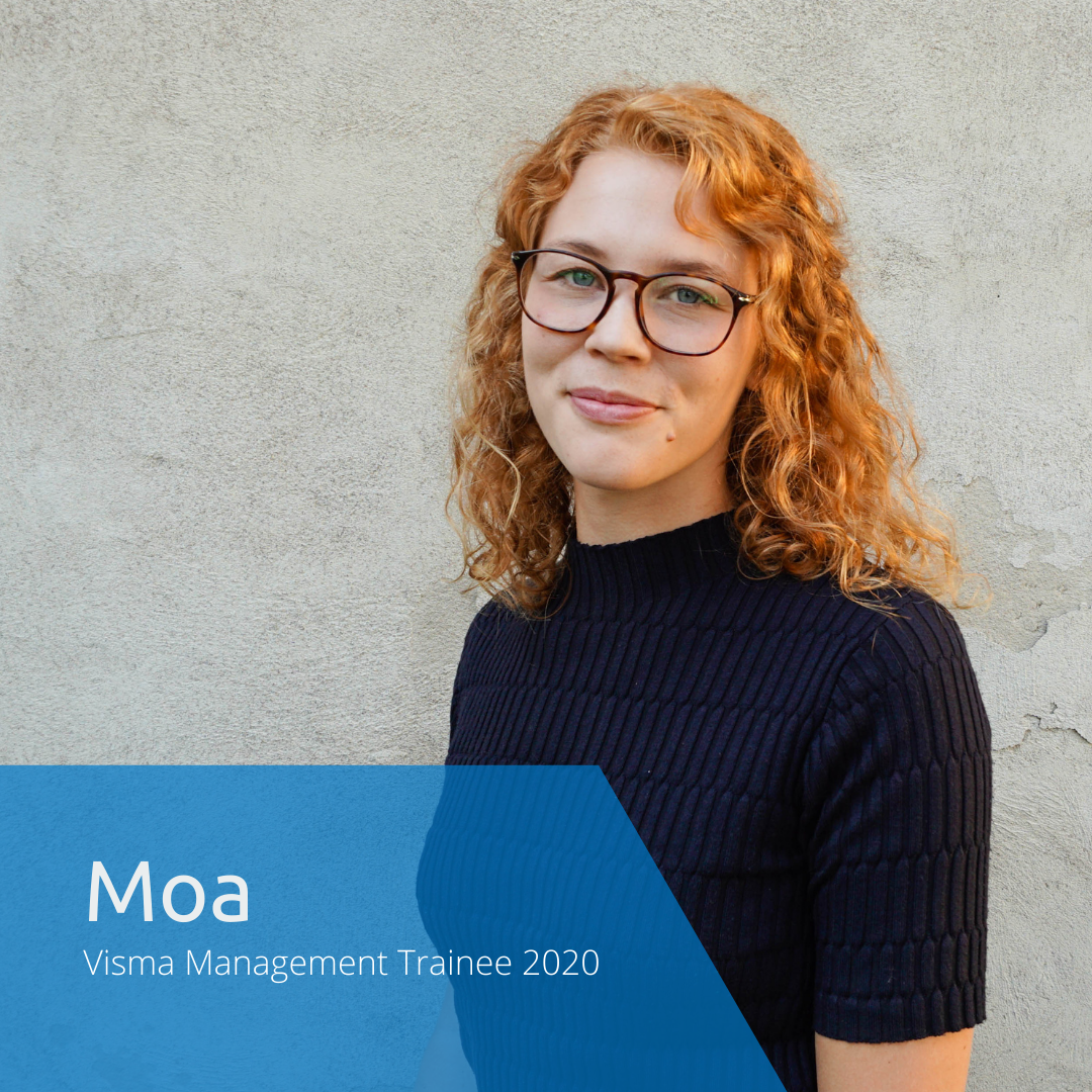 Get to know this year's Visma Management Trainees: Moa