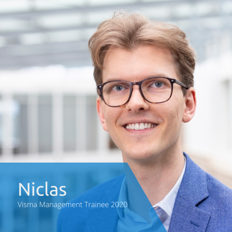 Get to know this year's Visma Management Trainees: Niclas