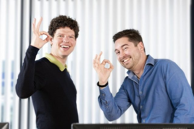 Two software testers with autism