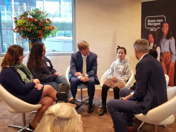 A student get to be the CEO of Visma Raet for one day