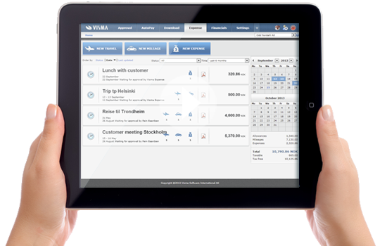 Startup software - expense management