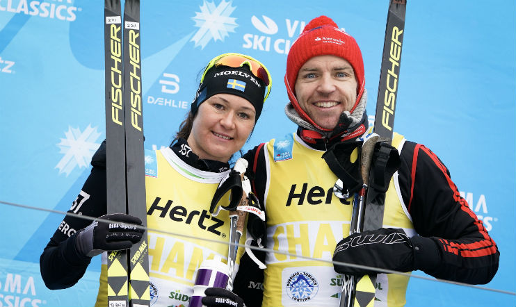 Gjerdalen and Johansson-Norgren win the Visma Alp Trophy competition
